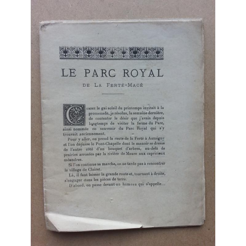 Le parc royal de la Ferté-Macé
