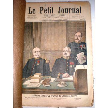 Le Petit journal supplément illustré du 2/1 au 25/12 1898 du 372 au 423