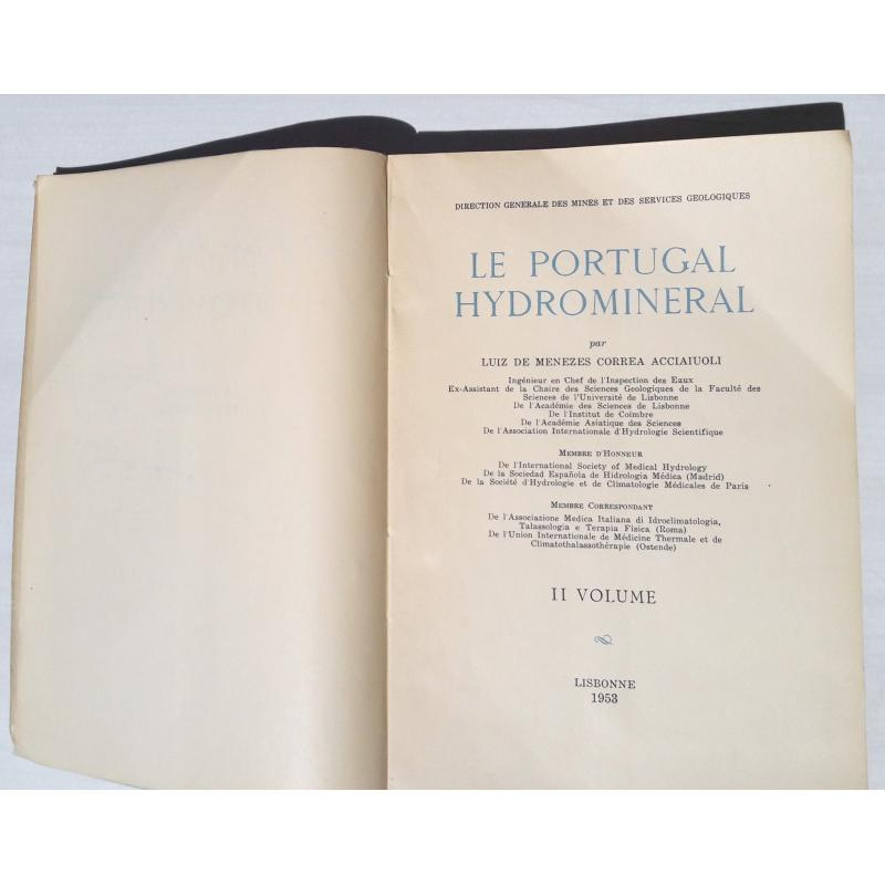 Le Portugal hydrominéral tome 2