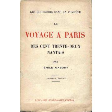 Le voyage à Paris des cent trente-deux Nantais. Les bourgeois dans la tempête