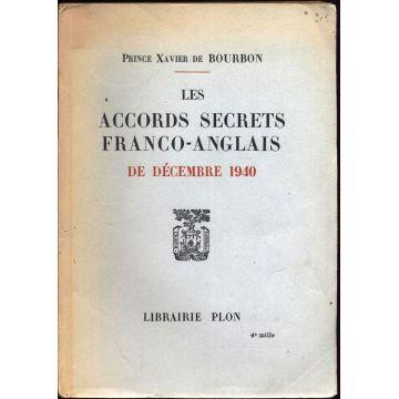 Les accords secrets franco-anglais de decembre 1940