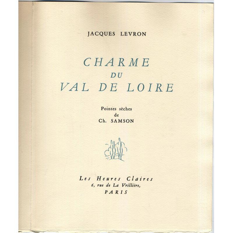 Les charmes du val de Loire numéroté