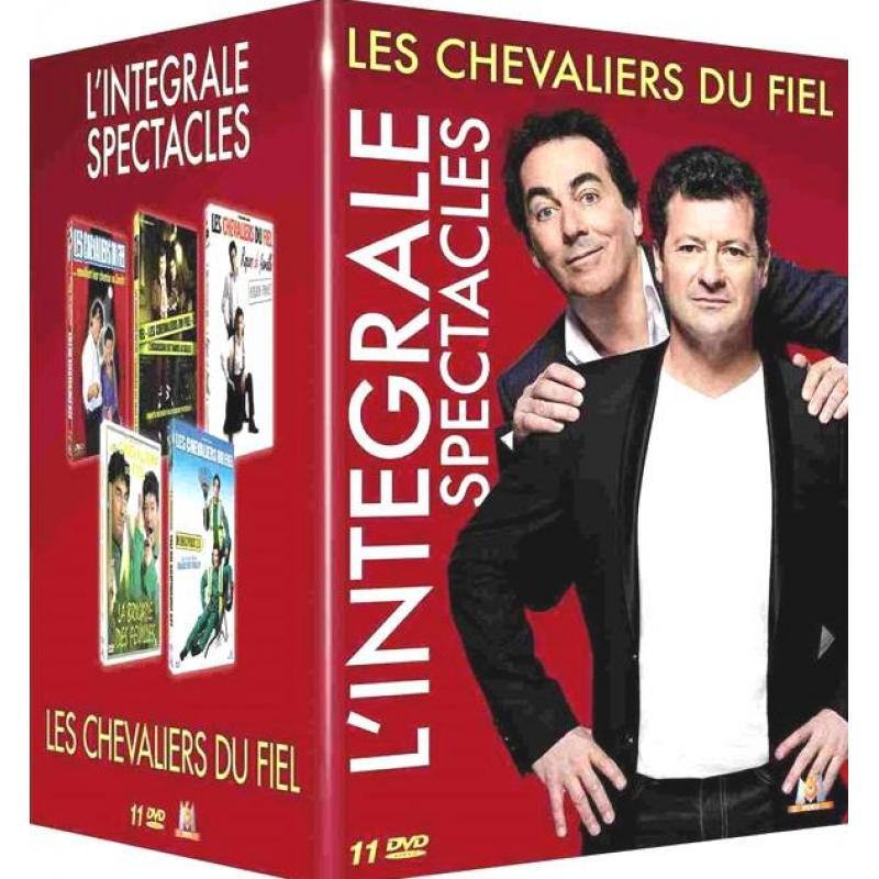 Les Chevaliers du Fiel l'intégrale 11 DVD SOUS BLISTER