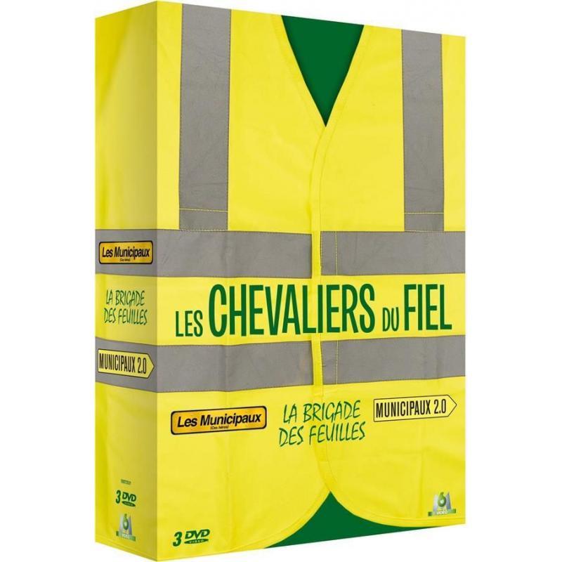 Les Chevaliers du fiel la brigade des feuilles 3 DVD les municipaux