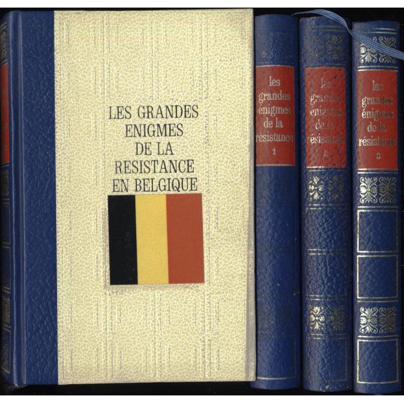 Les grandes énigmes de la Résistance + en Belgique