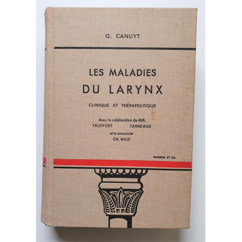 Les maladies du larynx 1939