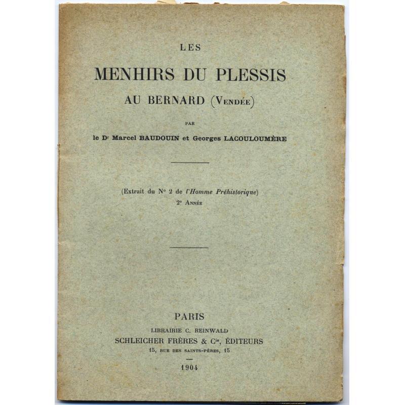Les menhirs du Plessis au Bernard