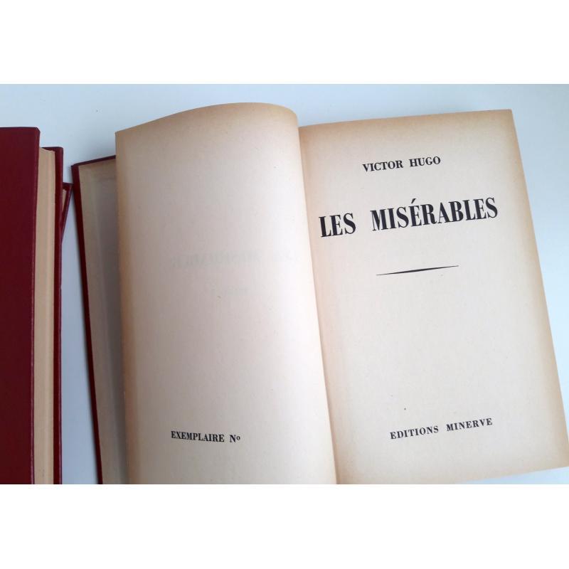 Les misérables 3 tomes complet