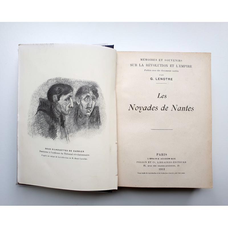 Les noyades de Nantes relié