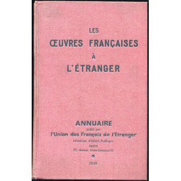 Les oeuvres francaises à l'etranger