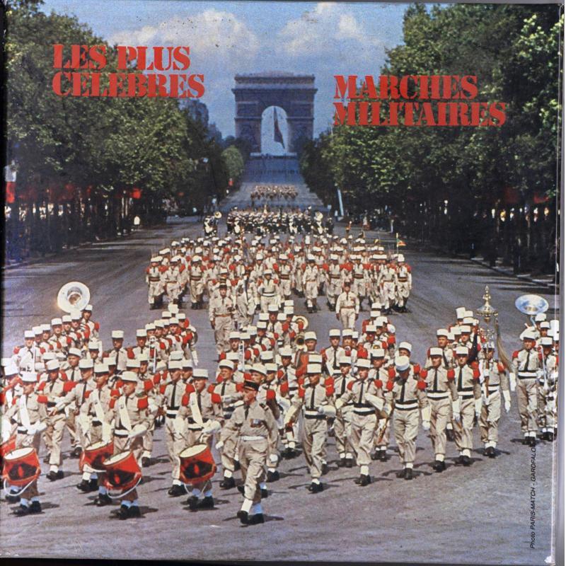 Les plus célèbres marches militaires coffret de 3 K7 audios