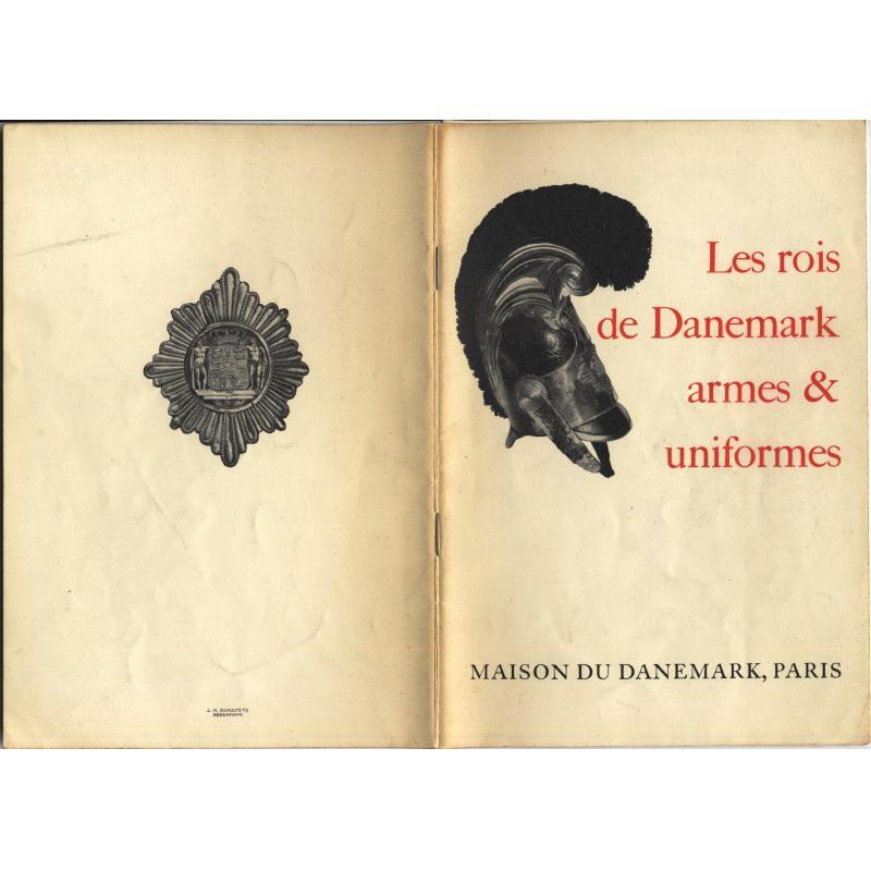 Les rois du Danemark armes & uniformes