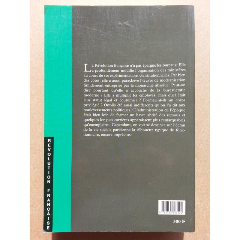 Les ronds-de-cuir en révolution ministère de l'Intérieur1792-1800