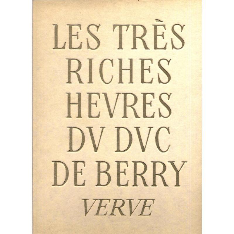 Les très riches heures du Duc de Berry Verve 7 et 10