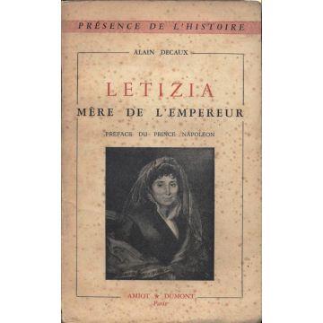 Letizia mere de l'Empereur