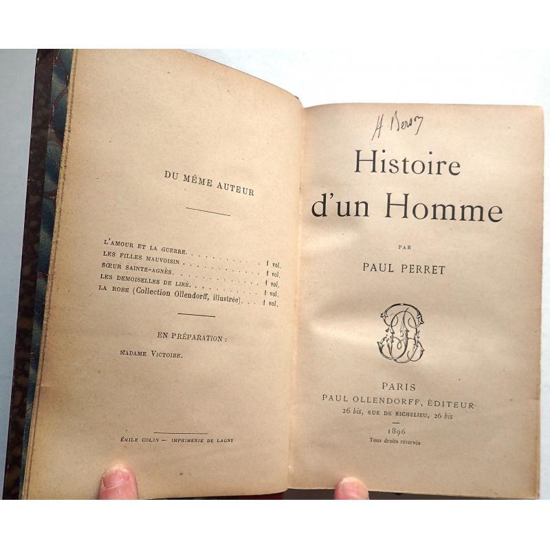 Lot de 32 livres reliés par un collectionneur XIX-XXe siècle