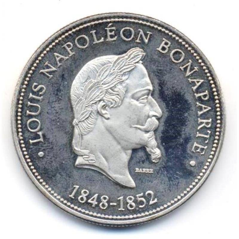 Louis Napoléon Bonaparte 1848-1852 Président de la république par Barre