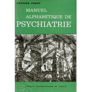 Manuel alphabetique de psychiatrie