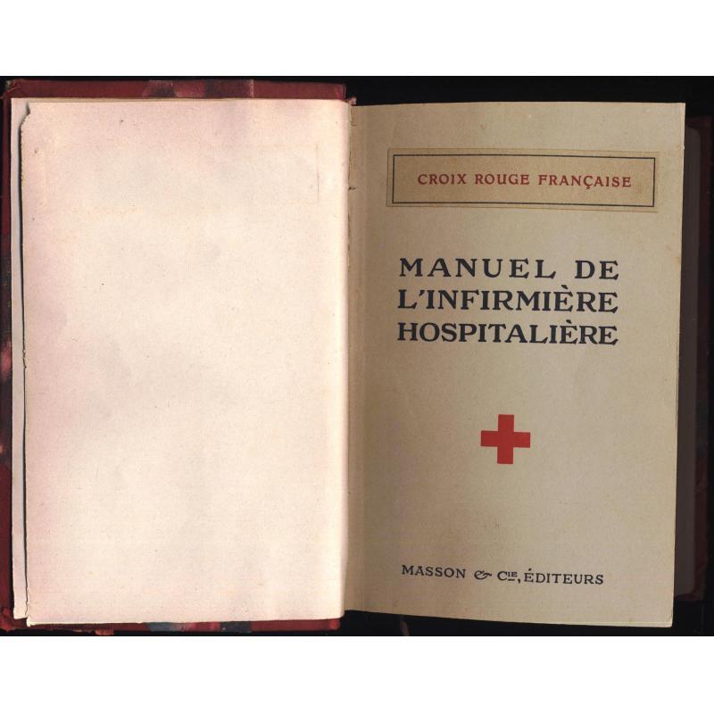 Manuel de l'infirmière hospitalière