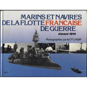 Marins et navires de la flotte française de guerre d'avant 1914
