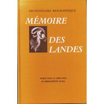 Mémoire des Landes Dictionnaire biographique