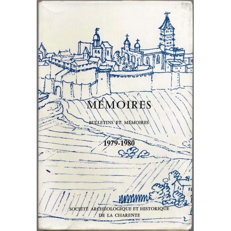 Mémoires bulletins et mémoires 1979-1980