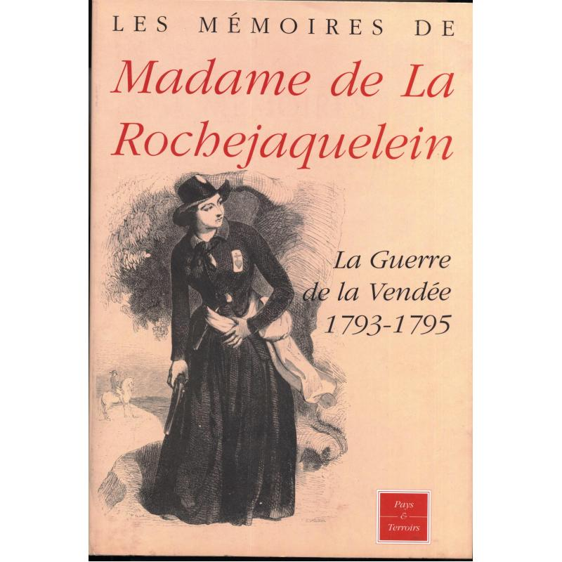 Mémoires de madame la Marquise de La Rochejaquelein reprint 1889