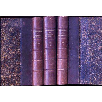 Mémoires du général Baron de Marbot 3 tomes