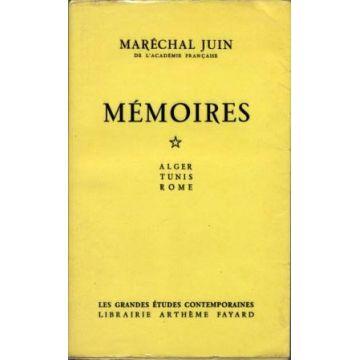 Mémoires. Tome 1