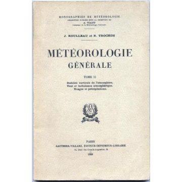 Météorologie générale Tome 2 Stabilité verticale de l'atmosphère