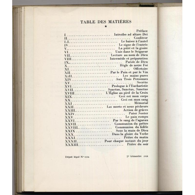 Missa est 1958