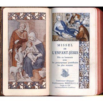 Missel de l'enfant Jésus mis en harmonie avec les prescriptions pontificales