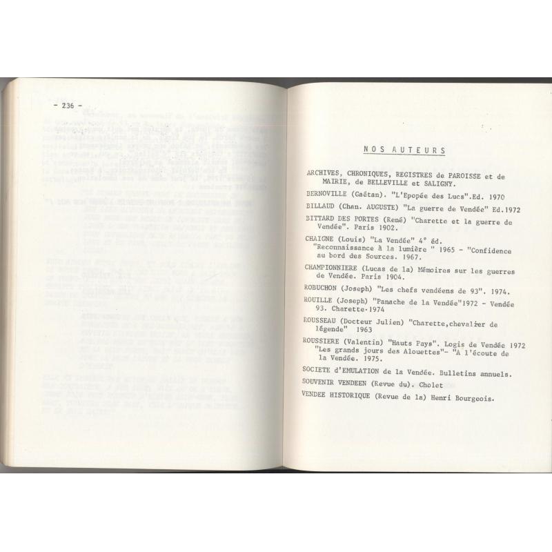 Monographie belleviloise publiée à l'occasion du centenaire de l'église (Vendée)