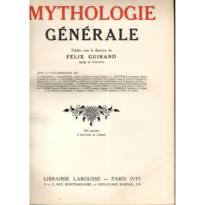 Mythologie générale