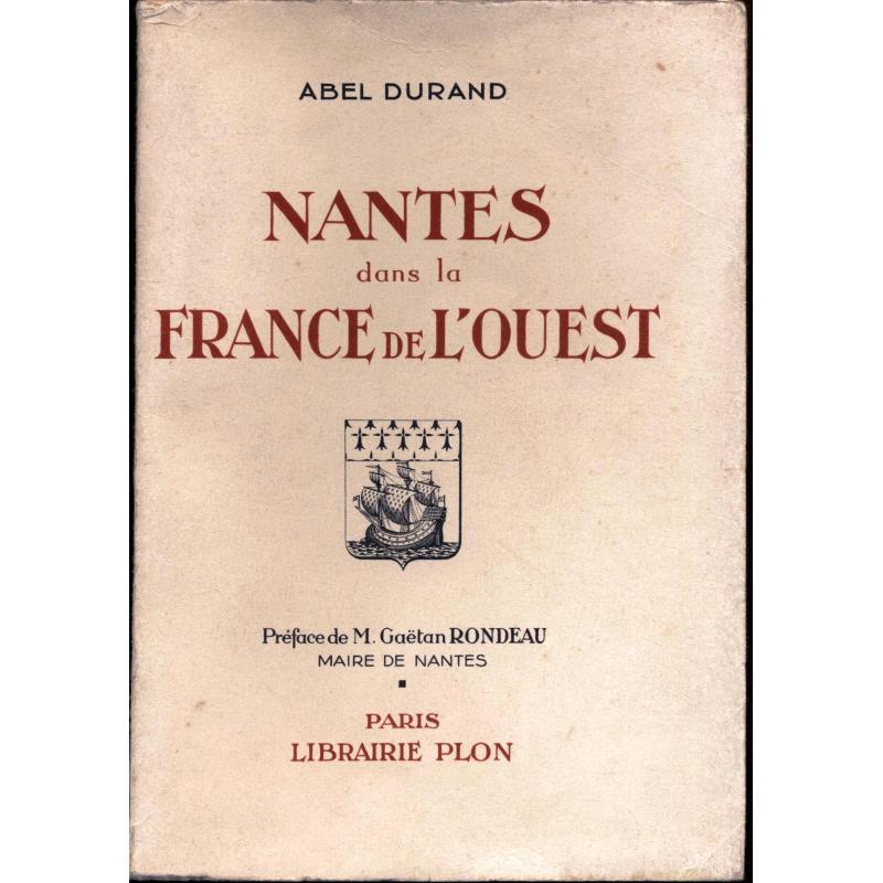 Nantes dans la France de l'Ouest EO hors commerce