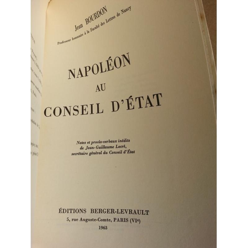 Napoléon au conseil d'Etat non coupé