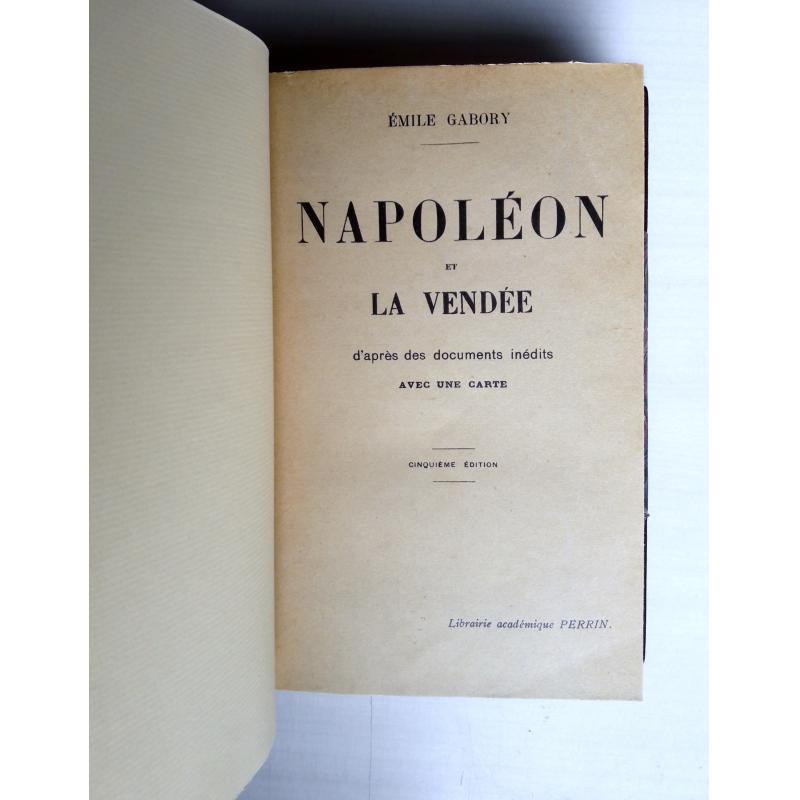 Napoléon et la Vendée relié
