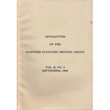 Newsletter of the maritime economic history group, Volume II, n°2