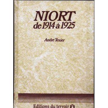 Niort de 1914 à 1925