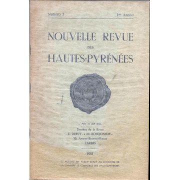 Nouvelle revue des Hautes-Pyrénées numero 3 1ere année
