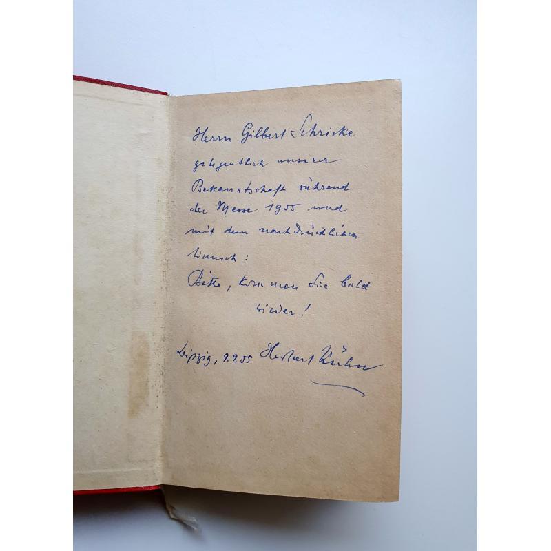 Novellen de Stendhal en Alemand l+ ENVOI du rédacteur de l'introduction