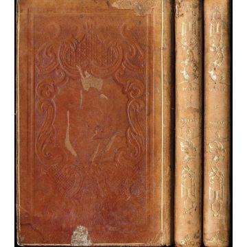 Oeuvres completes de Boileau Despreaux plus notice sur sa vie par Daunou 3 tomes