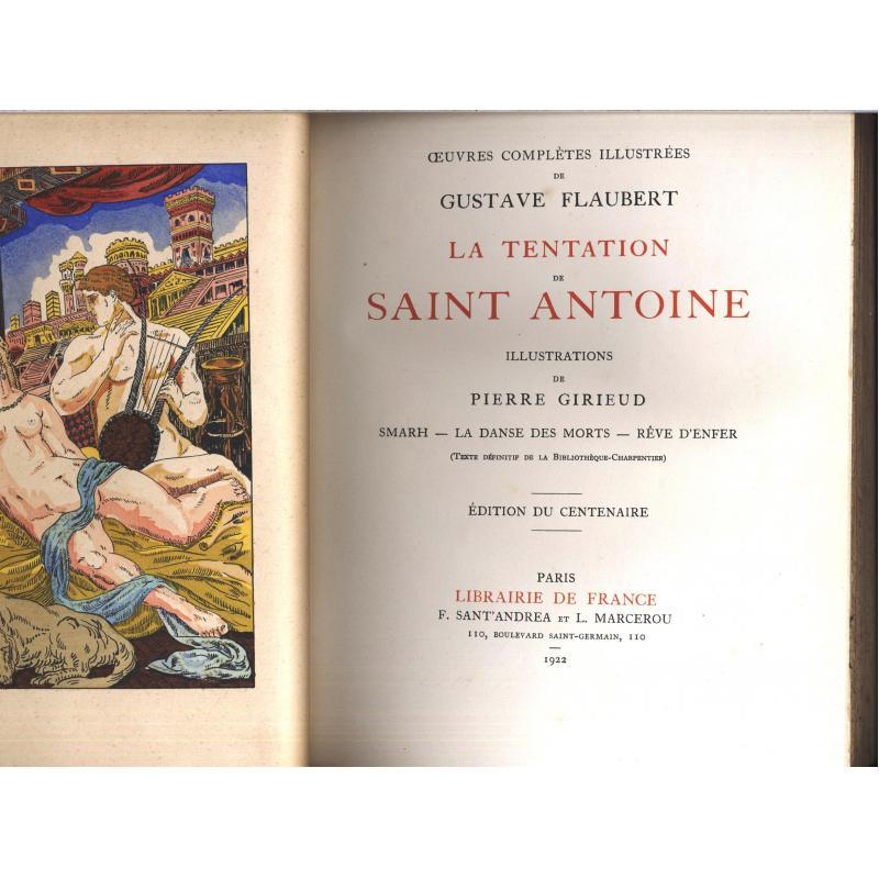 Oeuvres complètes illustrées de Flaubert en 10 volumes