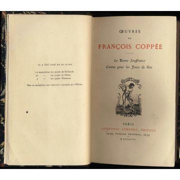 Oeuvres de François Coppee