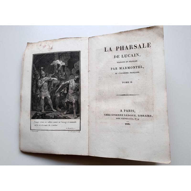 Oeuvres de Marmontel. La Pharsale de Lucain tome 2 sur 2