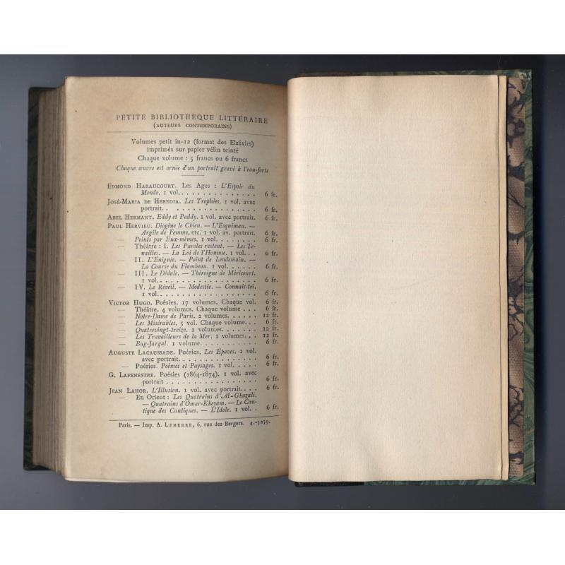 oeuvres de Victor Hugo Bug-Jargal couvertures conservées
