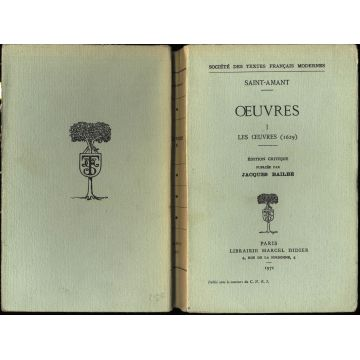Oeuvres tome 1 Les oeuvres (1629)