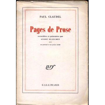 Pages de prose