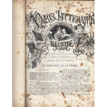 Paris litteraire illustré (15 janvier 1880 -15 decembre 1881)