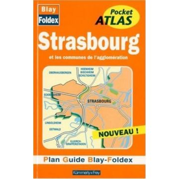 Plan-guide Atlas pocket Strasbourg
